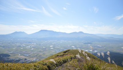 Aso caldera and farm experience tour!